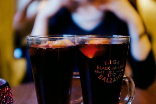 Latvijas Balzams hot Riga Black Balsam cranberry