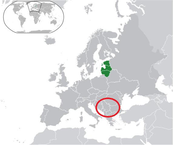 Baltic Europe Map.Baltic Run The Baltics Not The Balkans Baltic Run