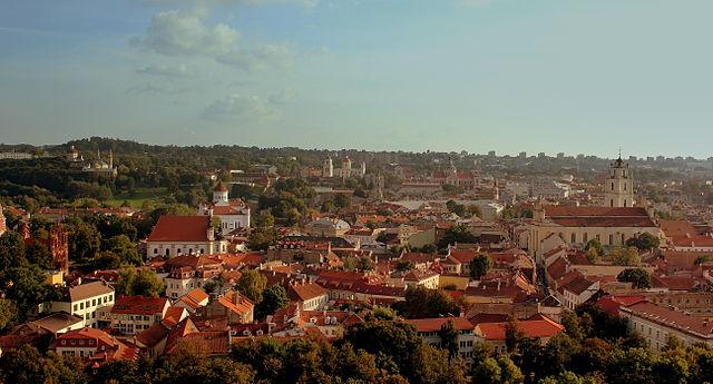 vilnous old town