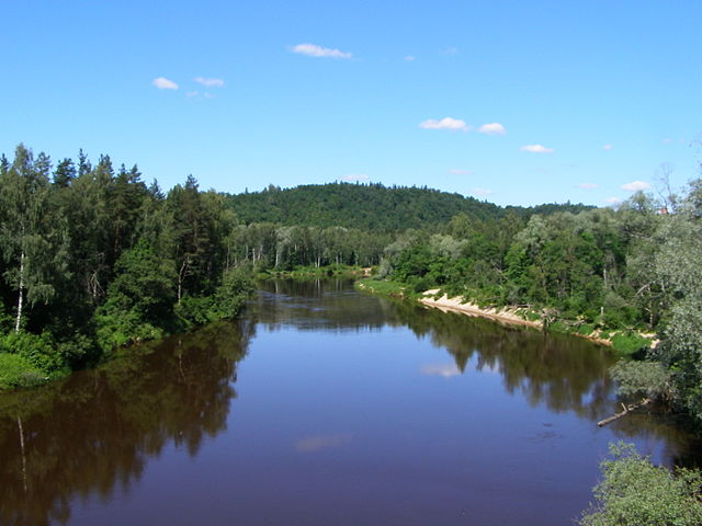 rivers of latvia